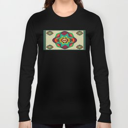 MusicStar mandala pattern Long Sleeve T-shirt
