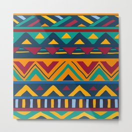 African Style No9 Metal Print
