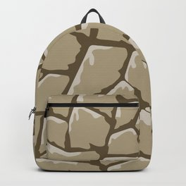 Pattern of painted stones #3 Backpack