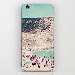 beach love V iPhone Skin