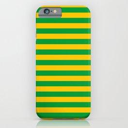 Mauritania Macau flag stripes iPhone Case