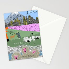 Wildlife of Japan Stationery Cards