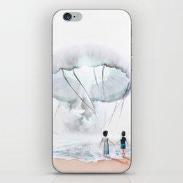 In Suspension iPhone Skin