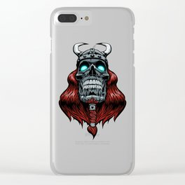 Valhalla Awaits Clear iPhone Case