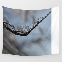 Winter Frozen Wall Tapestry