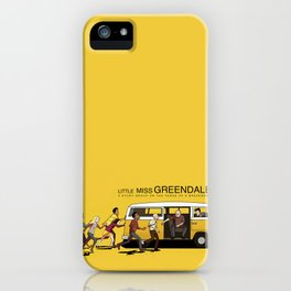 LITTLE MISS GREENDALE iPhone Case