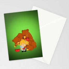Goldilocks and the Three Bears Stationery Cards