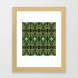 MossDiscs Framed Art Print
