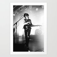 matty healy Art Prints featuring Matty Healy by 1999 Clothing Company