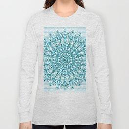 Stripped Mandala Long Sleeve T-shirt