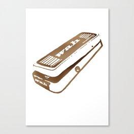 Wah Pedal Canvas Print