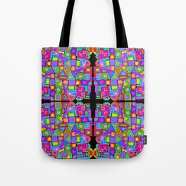 Jumbled Tote Bag