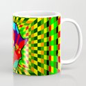 Colorful African Check Pattern Abstract Print by cynthiagailmanor