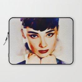 Audrey Hepburn, Hollywood Legend Laptop Sleeve