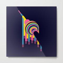 Lollipop Tower Metal Print
