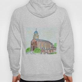 University of Dayton watercolor, UD Chapel, Dayton, OH Hoody
