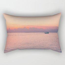 Balinese sunsets Rectangular Pillow