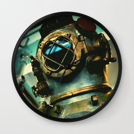 The Diver- Vintage Wall Clock
