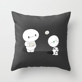 On a scale from 1 to 10 Throw Pillow