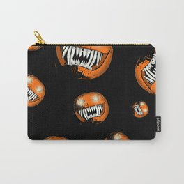 Scary Halloween Pumpkin Carry-All Pouch