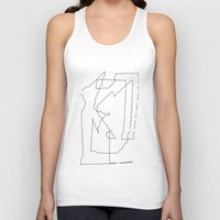 maps Tank Tops featuring Maps  by short stories gallery