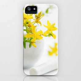 St. John's wort the strong helper from nature iPhone Case
