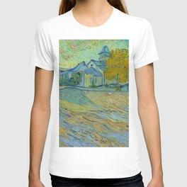 """Vincent van Gogh """"Vue de l'asile et de la Chapelle de Saint-Rémy"""" T-shirt"""