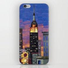 New York New York iPhone & iPod Skin