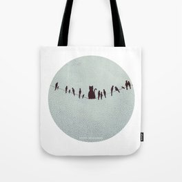 HAPPY VEGETARIAN Tote Bag