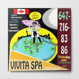 Vivita Spa, Toronto, Canada, Commercial Advert Artwork Metal Print