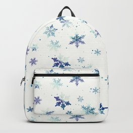 MIDNIGHT SNOWFLAKE PATTERN Backpack