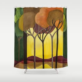 DoroT No. 0001 Shower Curtain