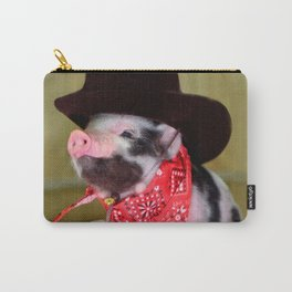 Puppy Cowboy Baby Piglet Farm Animals Babies Carry-All Pouch