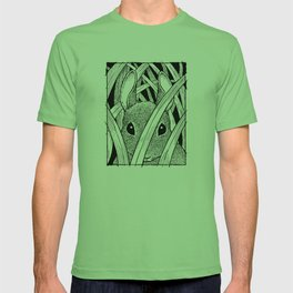 Bunny in the Grass T-shirt
