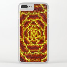Aborigine abstract 3 Clear iPhone Case