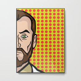 Dr. Krieger of ISIS Metal Print