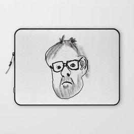My 12yo niece drew this portrait of me. Laptop Sleeve