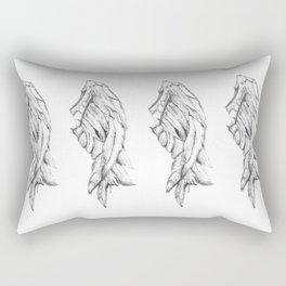 One Winged Angel Rectangular Pillow