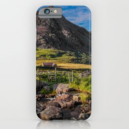 Tryfan Mountain Valley iPhone Case