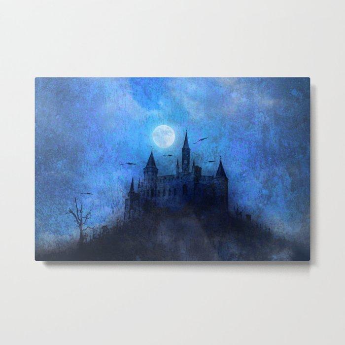 Mystical castle Metal Print