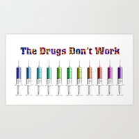 The Durg's Don't Work Art Print