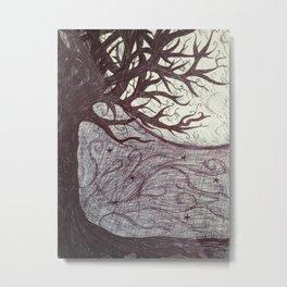 Moon Tales Metal Print