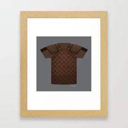 Armor Series: Studded Leather Shirt Framed Art Print