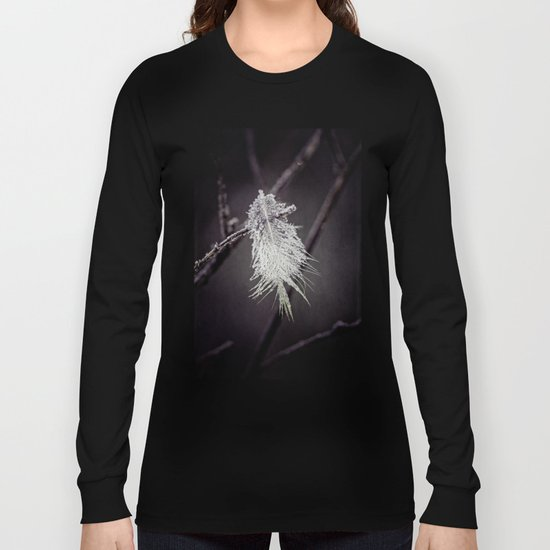 frosted feathers Long Sleeve T-shirt