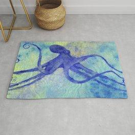 I'm So Blue Octopus Rug