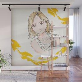 Dorky girl Wall Mural