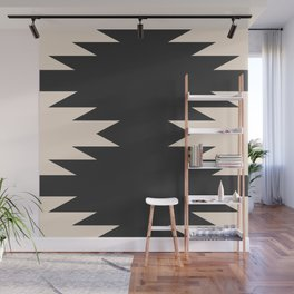 Minimal Southwestern - Charcoal Wall Mural