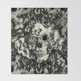 Victorian Gothic Throw Blanket
