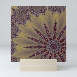 Fractal Scorpion Flower Mandala 1 Mini Art Print