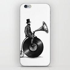 Music Man (monochrome option) iPhone Skin
